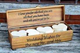 wishing box wedding wedding advice box guest book wedding guest book alternative