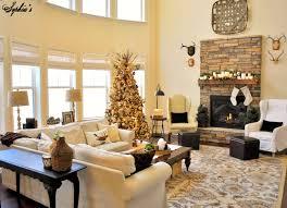 living room fancy living room christmas home deco integrates