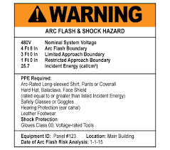 nfpa 70e arc flash table 2018 arc flash labeling requirements nfpa xchange