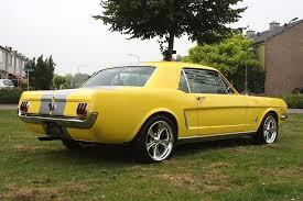 1965 yellow mustang 64 66 mustangs