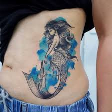 the 25 best watercolor mermaid tattoo ideas on pinterest