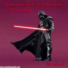 Star Wars Valentine Meme - a very star wars valentines valentine s day pinterest