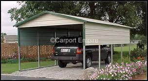 Steel Car Port Single Car Steel Carport With Side Panels 12 U0027x21 U0027x7 U0027 Carport Empire