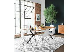 weaver dining table living spaces