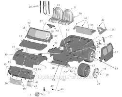 cadillac escalade replacement parts power wheels h0438 parts list and diagram ereplacementparts com