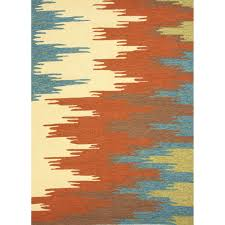 5 X 7 Indoor Outdoor Rug by Jaipur Rugs Colours Flame Stitched 7 6 X 9 6 Indoor Outdoor Rug