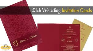 Sikh Wedding Card Sikh Wedding 3 Things To Know Before Ordering Customized Wedding
