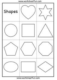 free printable large shapes shape posters freebie includes poster with all shapes and
