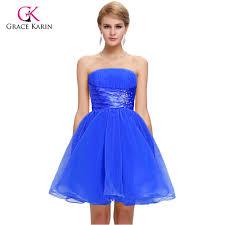 wholesale 2016 fashion design short prom dresses royal blue with