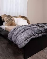 Fox Fur Blanket Pin By K B On Kucheliges Wohnen Pinterest Fur And Bedspread