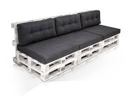 3 sitzer sofa paletti 3 sitzer sofa aus paletten kiefer weiss lackiert