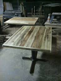 reclaimed wood table tops restaurant table tops reclaimed wood