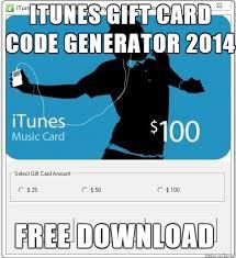 Meme Card Generator - free download itunes gift card code generator 2014 meme on imgur