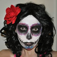 Halloween Makeup For Work by Halloween Makeup Tutorial Day Of The Dead Sugar Skull Glitter