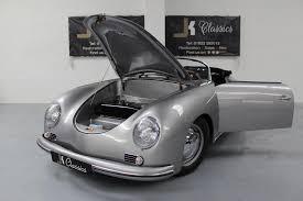 silver porsche convertible used porsche speedster 356 replica classic in silver poa 2 doors