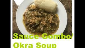 comment cuisiner le gombo comment faire la sauce gombo how to okra soup en cuisine