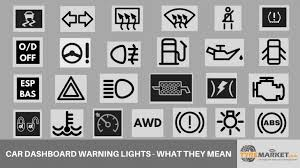 Dashboard Light Meanings Car Warning Lights U2013 What These Dashboard Lights Indicate