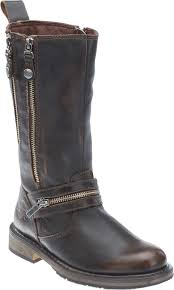 womens motorcycle boots uk harley davidson s sackett 10 75 in leather motorcycle boots