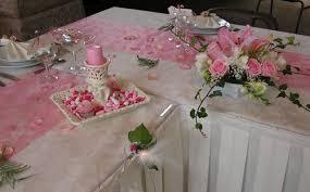 chemin de table mariage chemin de table