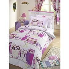 Childrens Duvet Covers Double Bed Amazon Com Girls Reversible Double Duvet Quilt Cover Childrens