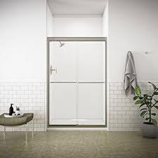 Bypass Shower Door Kohler K 702208 L Mx Fluence Frameless Bypass Shower Door Matte