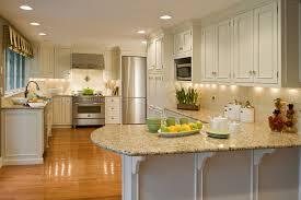 Neutral Colors For Kitchen - santa cecilia light granite kitchen traditional with neutral