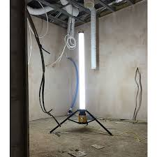 110v led work light elite aurora led uplight contractors work light 110v with pto socket