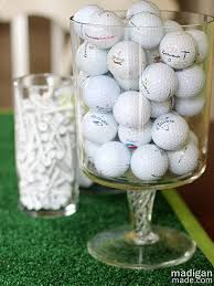 Vase Fillers Balls Golf Ball Vase Filler Decoration Idea Cool Golf Things