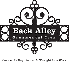 back alley ornamental iron