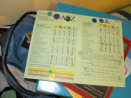 preschool report card template foundations of education and assessment grading