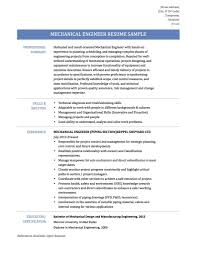 Career Objective Examples For Engineers Sample Resume Objective For Mechanical Engineer Fresh Graduate