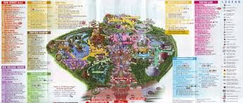 Map Of Orlando Theme Parks by Disneyland Map 2010 Jpg