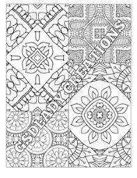 coloring coloring mandala geometric pattern