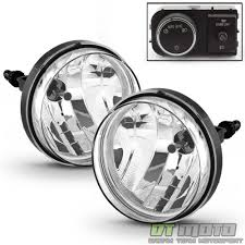 Fog Lights 2007 2013 Gmc Sierra Bumper Fog Lights Driving Lamps W Oe Style