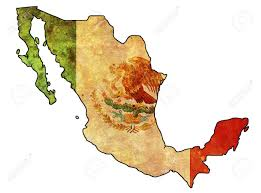 Old Mexico Map by Some Very Old Grunge Flag Of Mexico Stock Photo Picture And