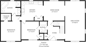 Cape Floor Plans by Nantucket Cape Style Modular Homes