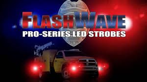 Firestorm Scanning Led Tailgate Light Bar by Flashwave Led Strobes By Plasmaglow Youtube