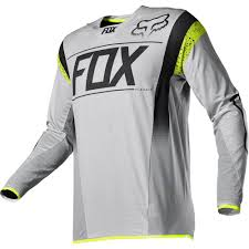 fox motocross gear combos fox racing 2016 limited edition flexair a1 kroma jersey grey