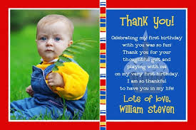 play photo thank you card primary cupcake cute