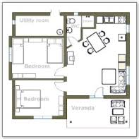 two bedroom house interesting 2 bedroom house plan contemporary best ideas