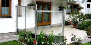 windschutz balkon plexiglas windfang sichtschutz und windschutz aus edelstahl niro perfekt