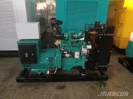 used cummins diesel generator set 4bt engines year 2017 price