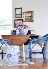 The Painted Hive New Blue Cane Chairsplus How To Use A Paint - Hive furniture