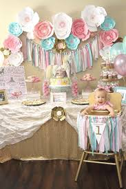 1st birthday girl themes a pink gold carousel 1st birthday party carousel birthdays