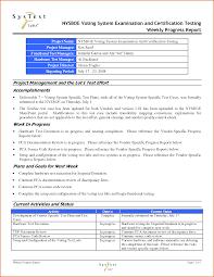 testing weekly status report template luxury project status report template excel templates design