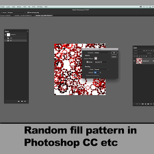 pattern from image photoshop how to use random fill pattern script in photoshop tutorial