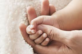 baby handprint crafts salt dough ornaments recipe