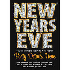 new year s eve party invitation vista print holiday cards