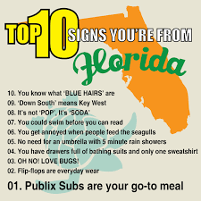 Florida Rain Meme - top 10 signs you re from florida waterfront properties blog