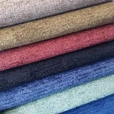tissu canapé solide tissu plaine chenille fils teints jacquard tissé doux rideau